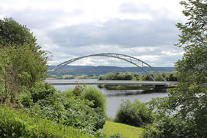 Bonar Bridge in Sutherland, Highlands of Scotland