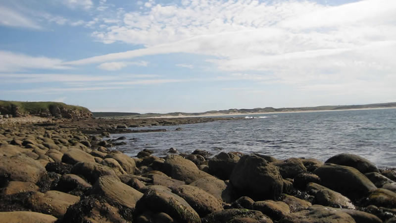 Caithness near Dunnet and Mary Anns Cottage