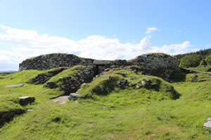 Carn Liath Broch, Sutherland, Scotland