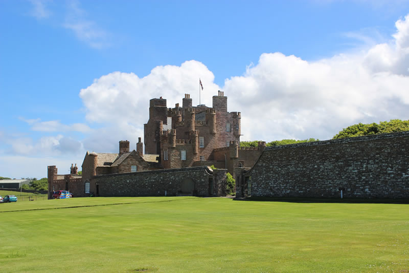 Main entrance to the Castle of Mey
