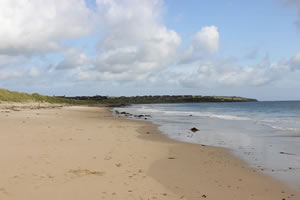 Keiss sandy beach, Caithness, Highlands of Scotland