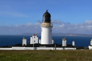 Dunnet Head - Scotland most northerly point on Britain's mainland.